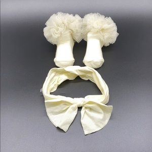 Other - Infant Headband & Socks